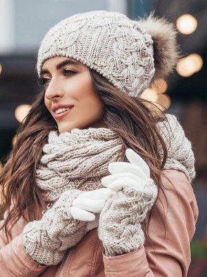 Правильное сочетание шапок с шарфами. Модные образы 2020.