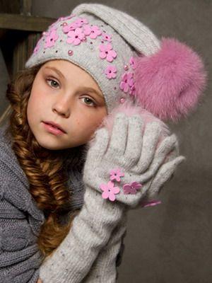 Советы по выбору теплой шапки для девочки